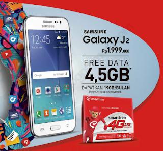 Gandeng Galaxy J2 Pro, Smartfren Tawarkan Paket Smart Deal