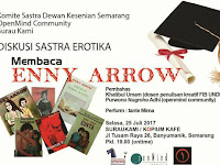 Diskusi sastra erotika di Semarang