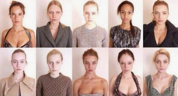 Victoria's Secret models without makeup randommusings.filminspector.com