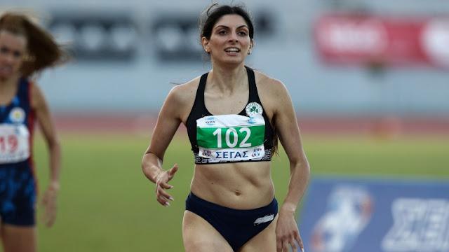 Πρωταθλήτρια Ελλάδας η Κωνσταντίνα Γιαννοπούλου από το Ναύπλιο