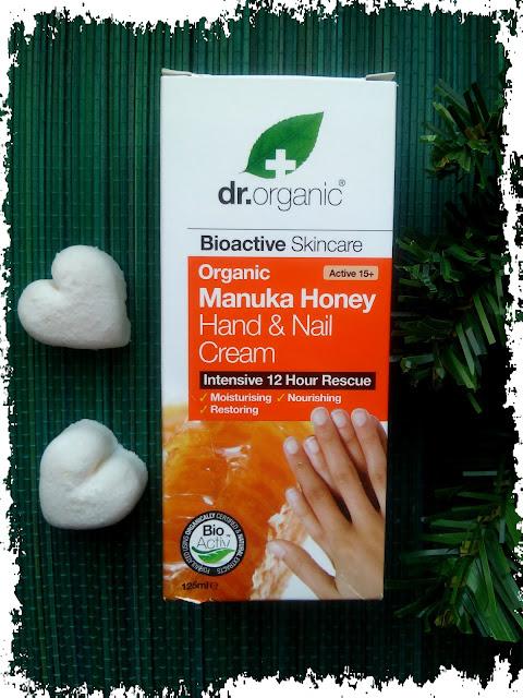 Dr. Organic, Krem do rąk i paznokci z miodem Manuka