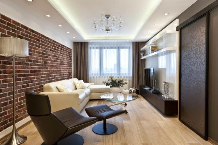 Salas modernas peque as salas con estilo for Salas grandes decoracion