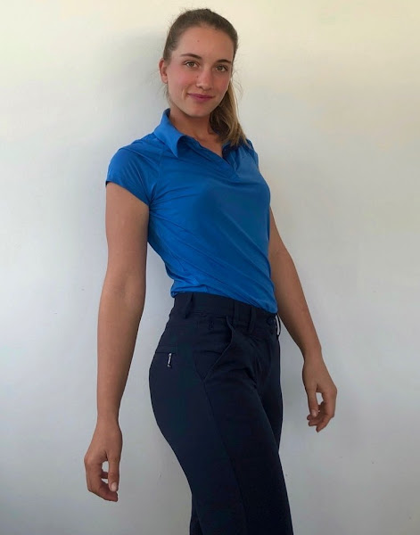 Spanish golfer Laura Gomez Ruiz