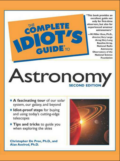 Idiots Guide to Astronomy 2nd ed pdf