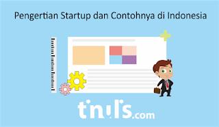 Pengertian Startup dan Contohnya di Indonesia