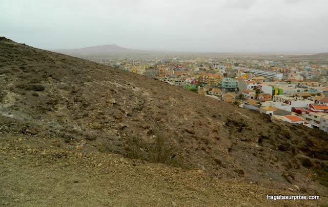 Espargos, capital da Ilha do Sal, Cabo Verde