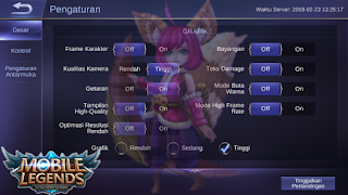 Pengaturan Terbaik dan Terbaru Game Mobile Legends