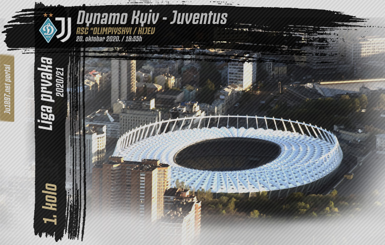 Liga prvaka 2020/21 / 1. kolo / Dynamo Kyiv - Juve, utorak, 18:55h