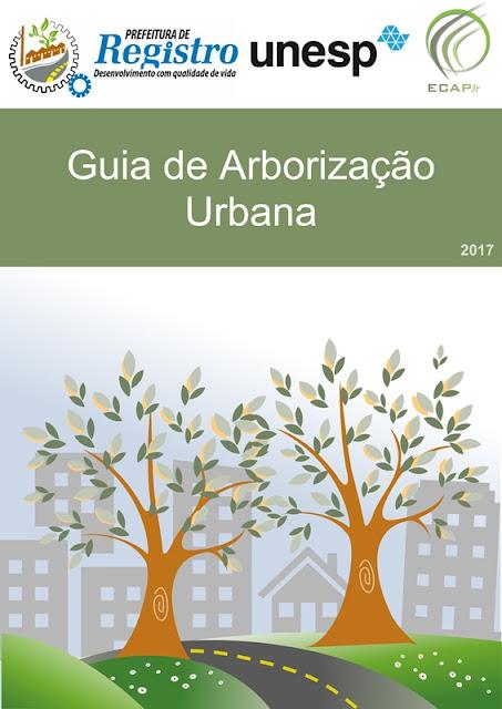 Prefeitura de Registro-SP prepara Guia de Arborização Urbana