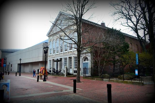 East India Marine Hall, Peabody Essex Museum, Salem, Massachusetts, present day