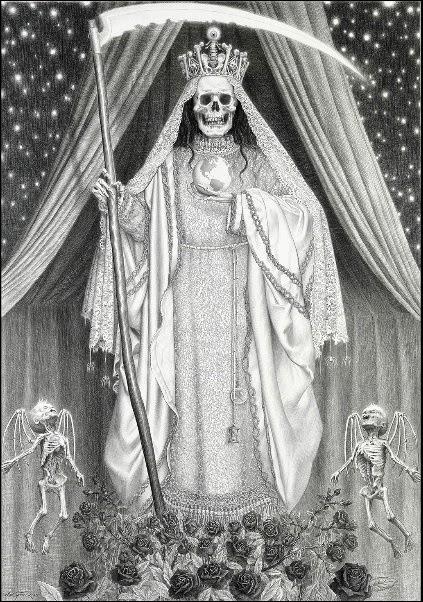 Petición A La Santa Muerte Para Salir De Deudas Oraciones