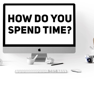 How Do You Spend Your Time (time management stock image)