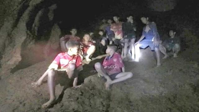 Kronologi 12 Remaja Thailand Terperangkap Dalam Gua Tham Luang Nam Ning, Thailand