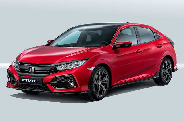 New Honda Civic hatchback 2017