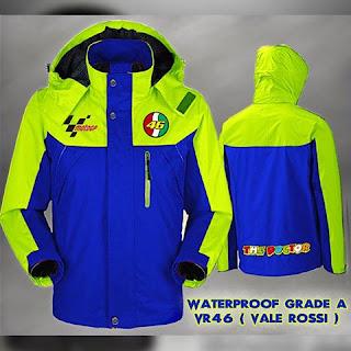 Jaket Waterproof  Valentino Rossi