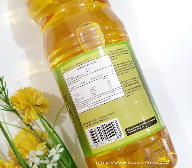 Manfaat Oryza Grace Rice Bran Oil