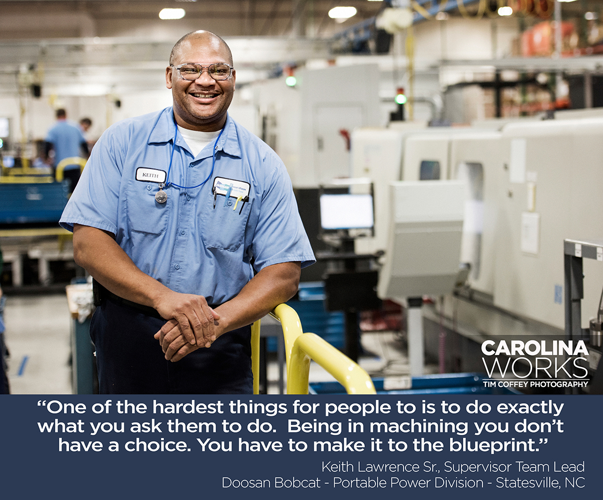Carolina Works - Photographing NC Manufacturers