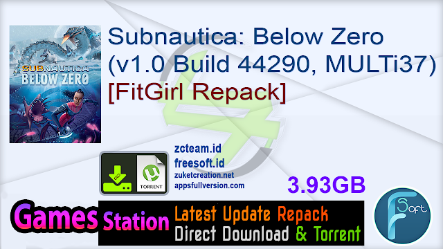 Subnautica Below Zero (v1.0 Build 44290, MULTi37) [FitGirl Repack]