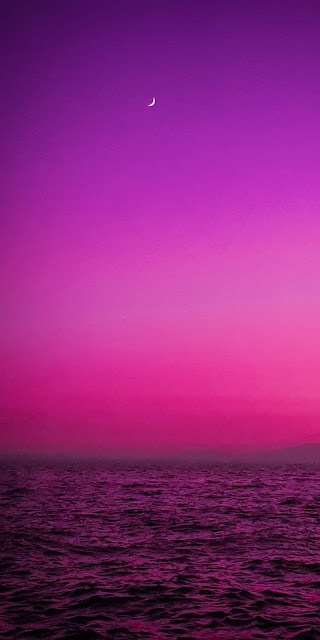 Purplish sunset