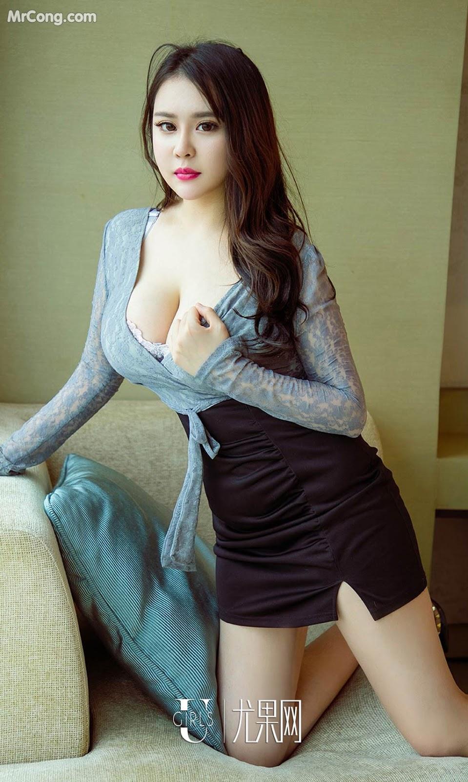 Image UGIRLS-Ai-You-Wu-App-No.1092-Yang-Xuan-Er-MrCong.com-001 in post UGIRLS – Ai You Wu App No.1092: Người mẫu Yang Xuan Er (杨宣儿) (35 ảnh)