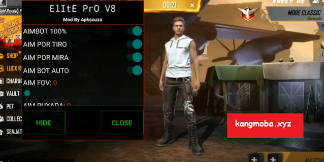 Cheat FF Mod Menu Elite Pro v8 Headshot Antiban Antiblacklist
