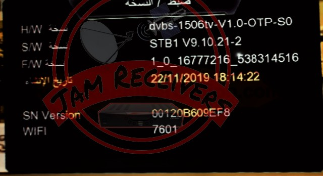 1506TV STB1 LATEST IPTV SOFTWARE-JAM RECEIVERS