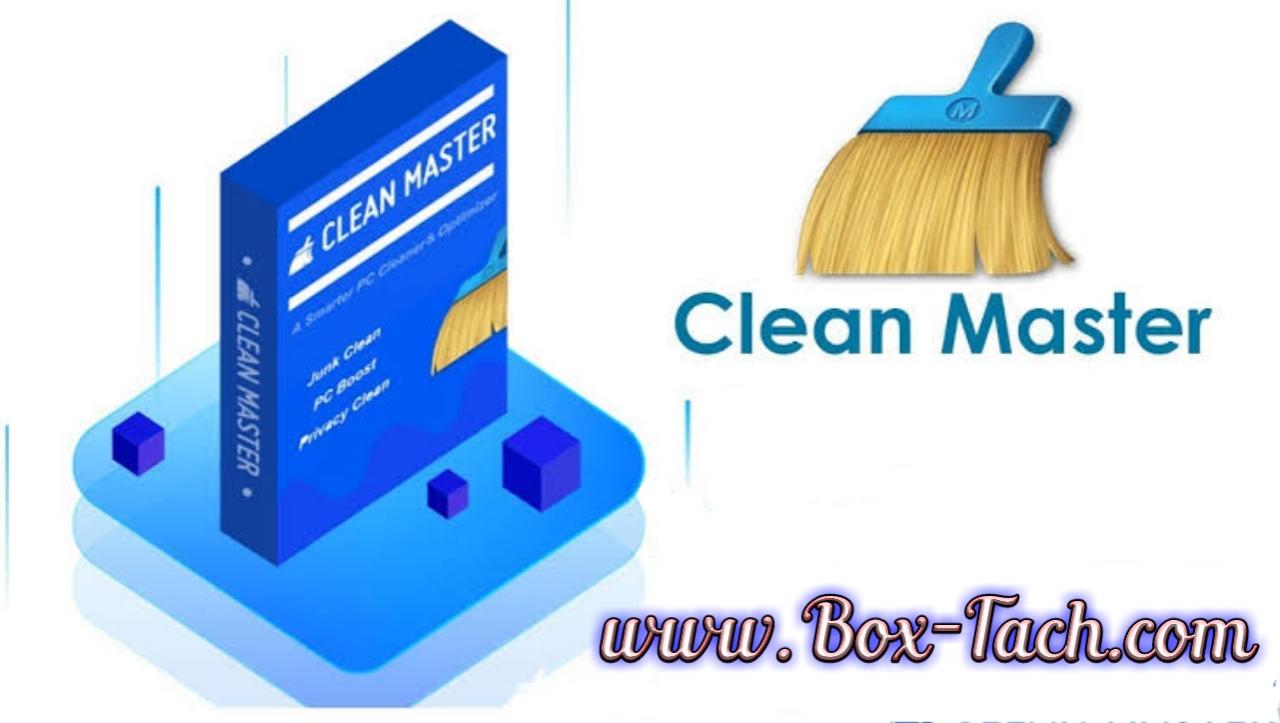 تحميل كين ماستر مع التفعيل Clean Master Box Tech Box Tech