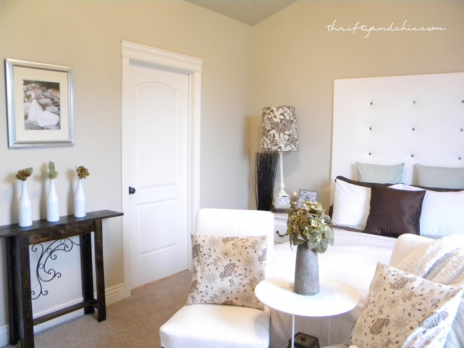 How to Decorate Series {day 4}: Start with Inspiration by ...  Thrifty Bedroom Ideas