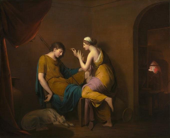 تقول الأسطورة أن الرسم ولد من رحم الحب