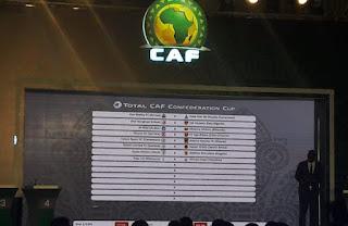غدا الاثنين موعد اجراء قرعة كاس الاتحاد الافريقي 2021 دوري المجموعات