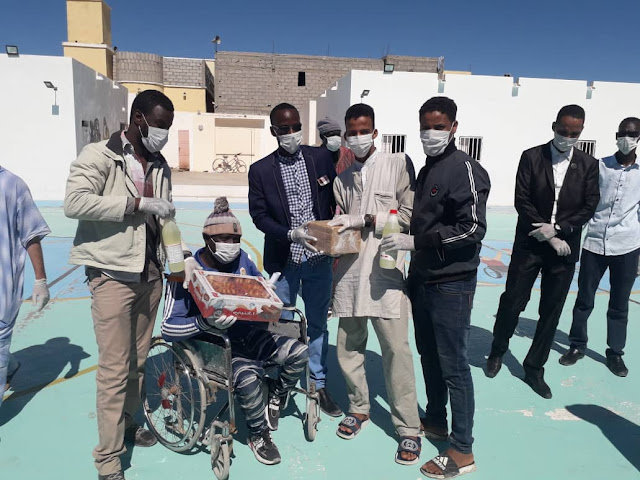 """Nouadhibou : """" Voix des Jeunes Sahel """" bouge contre le Corona-virus - Photos"""