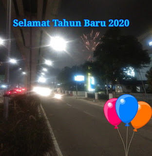 Tahun baru 2020 : Penuh harapan di usia muda ku