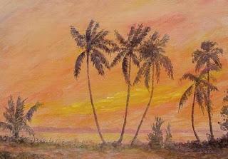 Impressionist painting by Kerala artist, Biju P Mathew