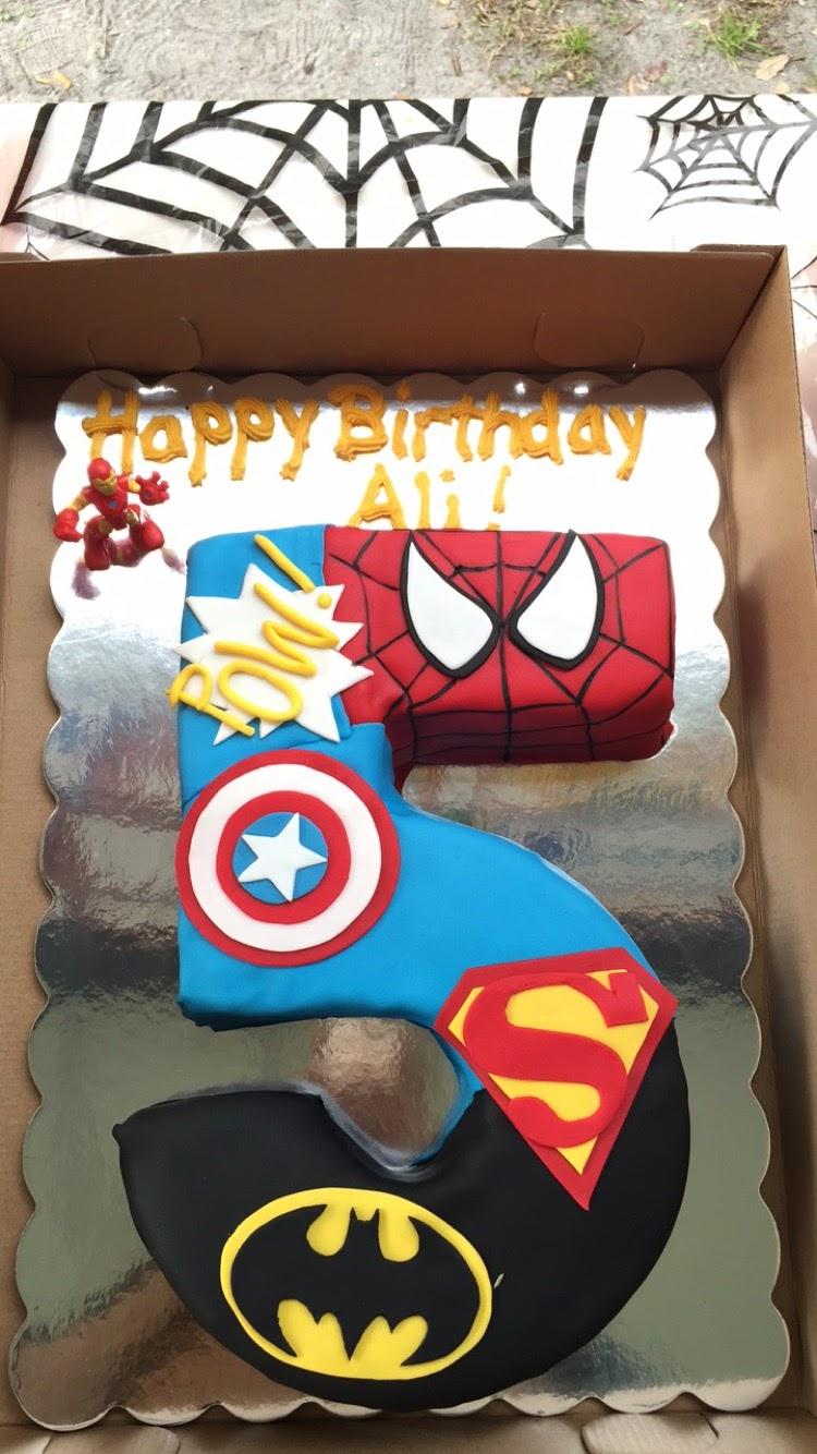 Live Learn Laugh Ali S 5th Superhero Birthday Party