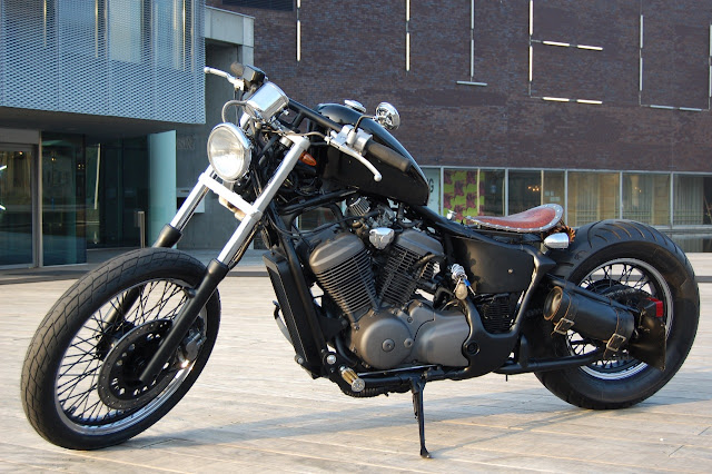 Honda Shadow By NL Bobbers Hell Kustom