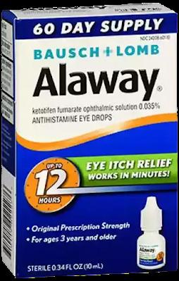 Alaway Drop for eye allergies