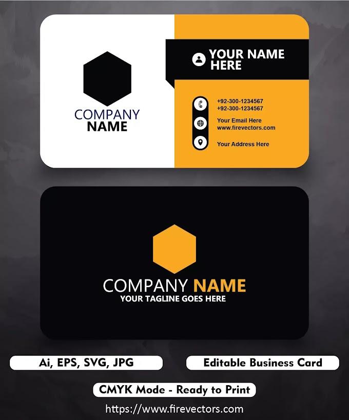 Business Card Template Ai - 10
