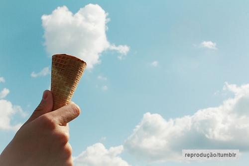 nuvem sorvete tumblr, quase perfeito