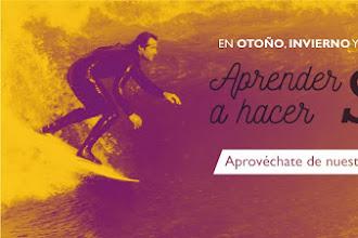 NUEVO BONO PARA SURFEAR EN BALUVERXA ESCUELA SURF CABO PEÑAS