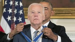 President Obama awarded Biden the Presidential Medal of Freedom