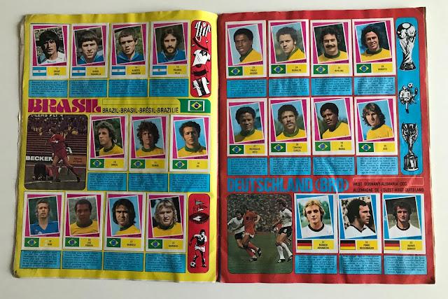 Figurine Brasile Argentina 78 FKS