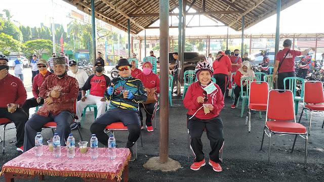 Camat Pasar Jambi Melalui (BERCOLEK) Bersama Wakil Walikota Jambi.