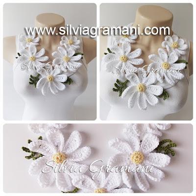 Colar Daisy Flowers