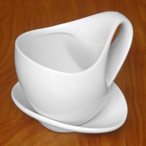 Regalo de una taza con diseño único.
