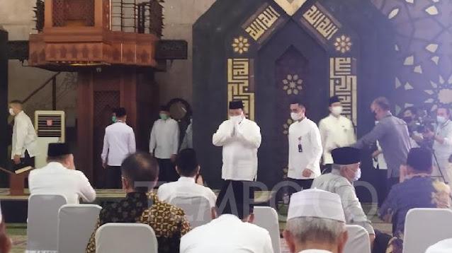 Prabowo Subianto, Anies Baswedan dan Keluarga Cendana Hadiri Peringatan 100 Tahun Soeharto