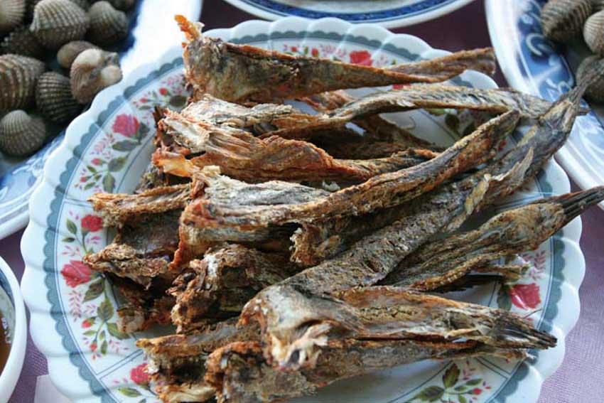 Khô cá thồi lồi nướng