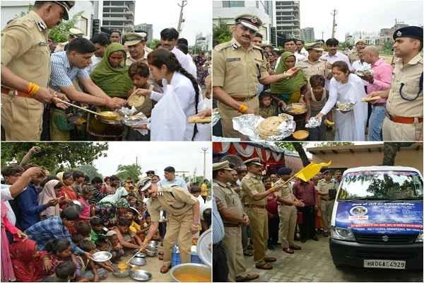 adgp-shrikant-jadhav-inaugurated-roti-bank-sector-17-police-chowki-faridabad