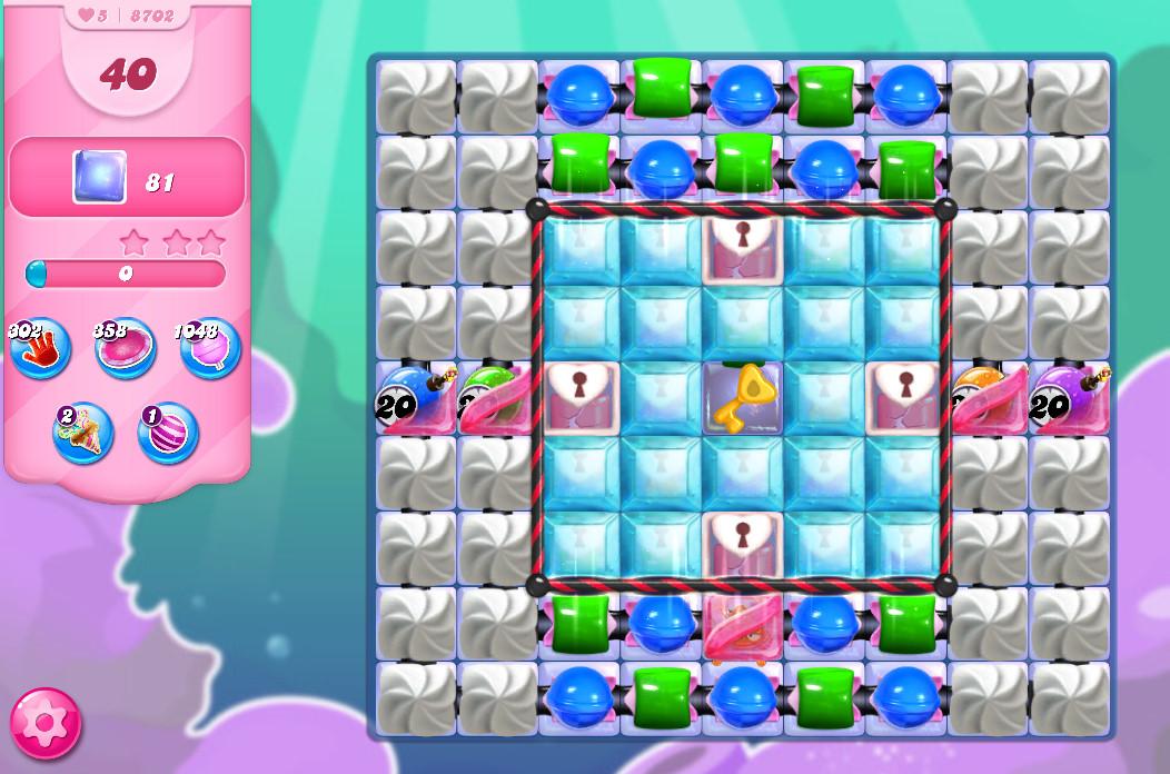 Candy Crush Saga level 8702