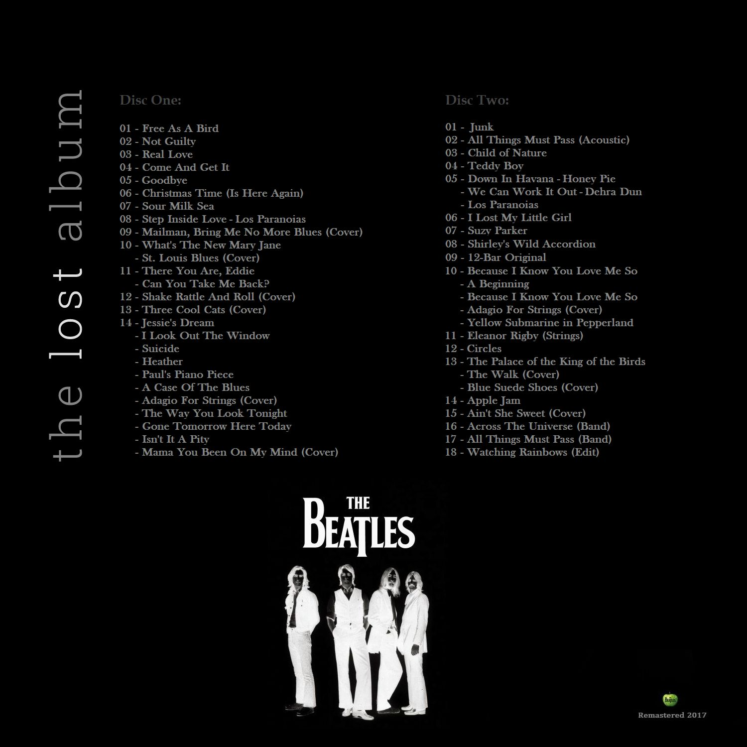 RELIQUARY: Beatles, The - The Lost Album (6CD Box Set 2017) [SBD]