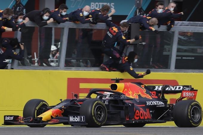 Triunfazo de Max Verstappen en una accidentada carrera en el GP de Emilia Romagna de Fórmula 1